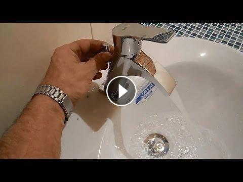 Как установить кран на раковину в ванной