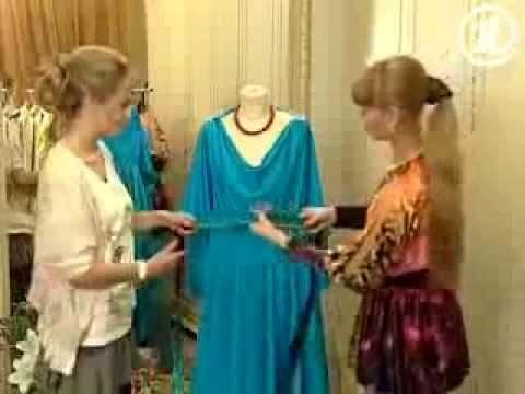 Сшить платье одним швом