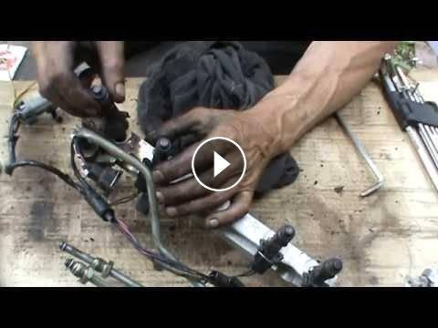 Ваз 2107 прочистить инжектор своими руками 90