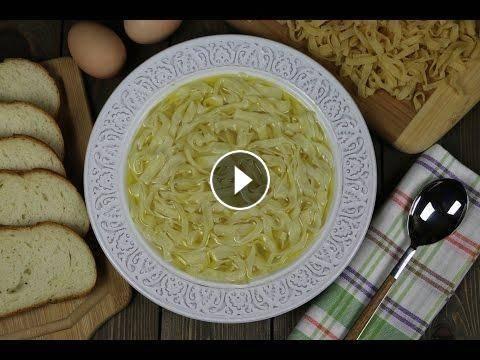 Рецепт домашней лапши своими руками