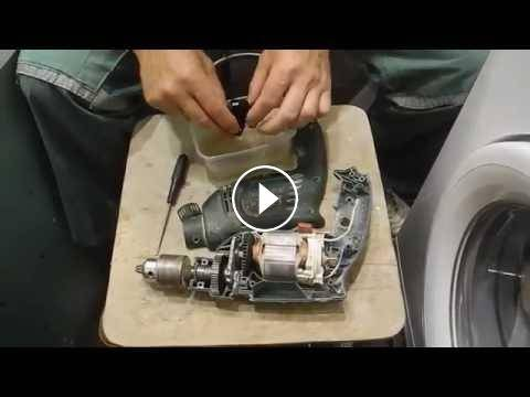 ремонт реверса дрель бош