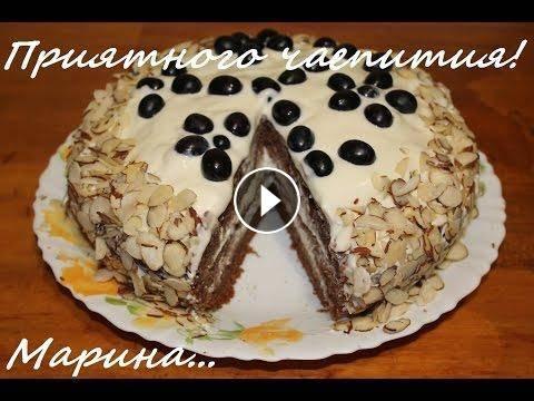 Как приготовить сметанный торт фото