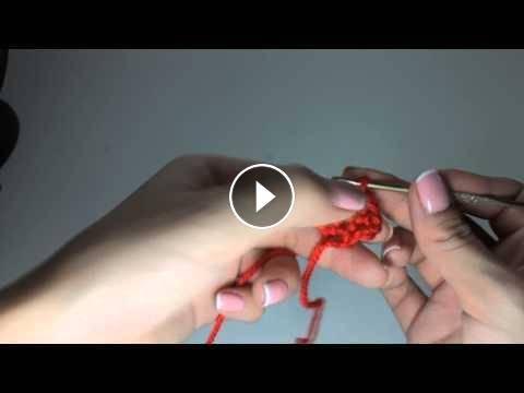 Вязание крючком для начинающих в видео уроках