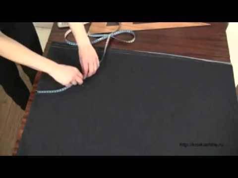 Видео шитья юбки полусолнце