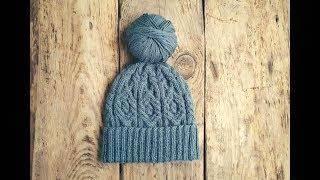 Школа вязания светланы коломиец шапка 24