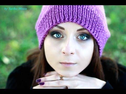 Sasha moon вязание шапка 14