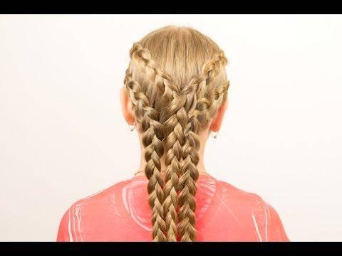 Уроки плетения кос от татьяны склеминой